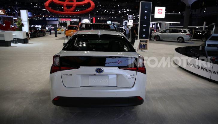 Nuova Toyota Prius AWD-i 2019, il nuovo ibrido anticipa il futuro - Foto 9 di 9