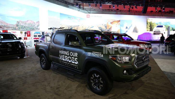 Tutte le novità di Toyota presentate al Salone di Los Angeles 2018 - Foto 8 di 33