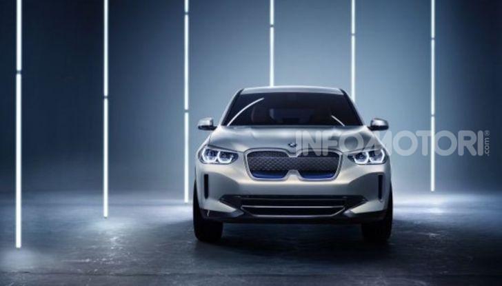 BMW iX3 2020: il SUV elettrico premium è Made in China - Foto 17 di 59