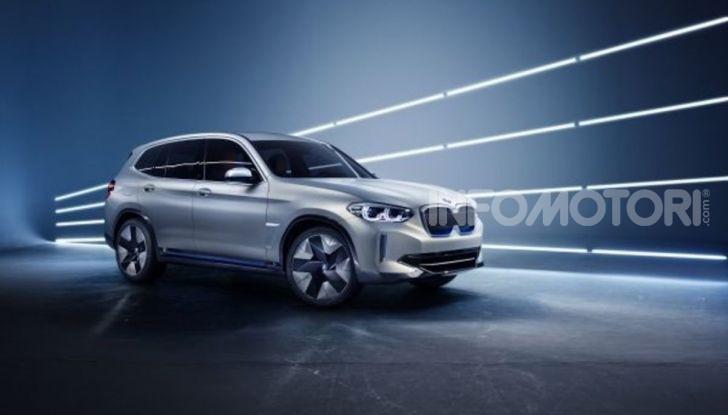 BMW iX3 2020: il SUV elettrico premium è Made in China - Foto 18 di 59