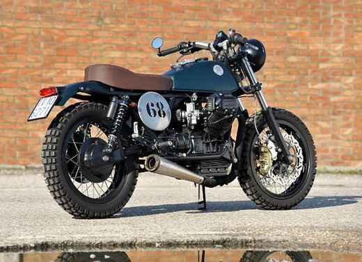 Moto Guzzi N° 1 Project by Moto di Ferro - Foto 3 di 17