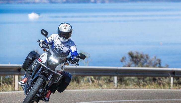 Test Honda CB 500X: divertimento e facilità immediata! - Foto 7 di 41