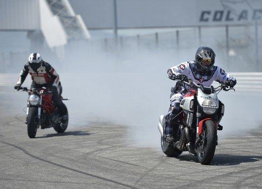 World Ducati Week 2012: Carlos Checa in sella alla Ducati 1199 Panigale - Foto 13 di 15