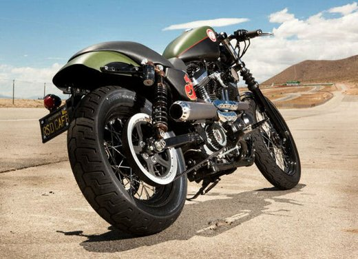 Harley Cafe Sportster by Roland Sands - Foto 10 di 38