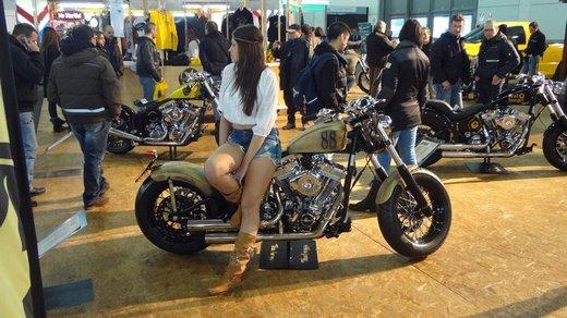 Tutte le più belle ragazze del Motor Bike Expo 2013 – Seconda fotogallery - Foto 1 di 24