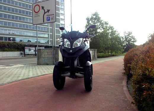 Quadro 350d prova su strada: due ruote bene, tre ruote meglio - Foto 7 di 30