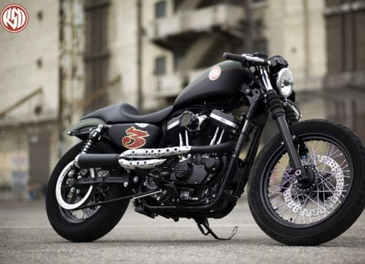 Harley Cafe Sportster by Roland Sands - Foto 17 di 38