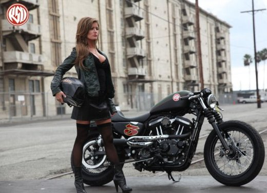 Harley Cafe Sportster by Roland Sands - Foto 7 di 38
