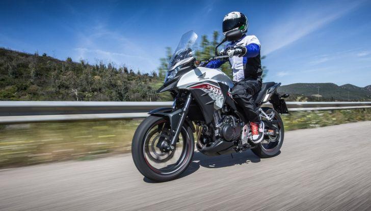 Test Honda CB 500X: divertimento e facilità immediata! - Foto 14 di 41
