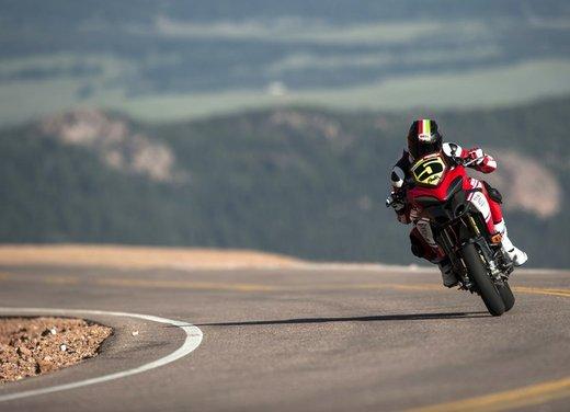 Ducati Multistrada 1200 S vince la Pikes Peak 2012 - Foto 16 di 22