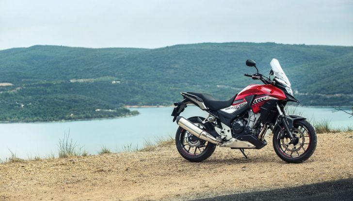 Test Honda CB 500X: divertimento e facilità immediata! - Foto 24 di 41