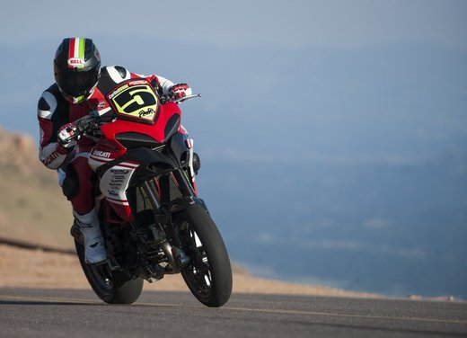 Ducati Multistrada 1200 S vince la Pikes Peak 2012 - Foto 17 di 22