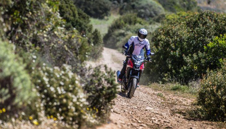 Test Honda CB 500X: divertimento e facilità immediata! - Foto 20 di 41