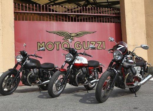 Nuova Moto Guzzi V7 test ride: classica, basic o sportiva