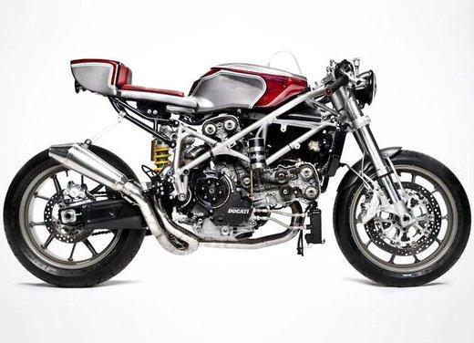 Ducati 749 Cafe Racer by South Garage - Foto 1 di 14