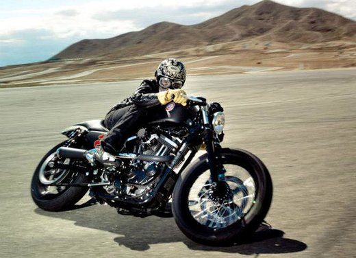 Harley Cafe Sportster by Roland Sands - Foto 15 di 38