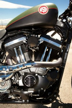 Harley Cafe Sportster by Roland Sands - Foto 27 di 38