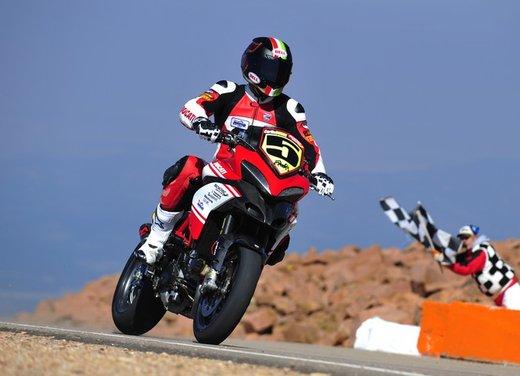 Ducati Multistrada 1200 S vince la Pikes Peak 2012 - Foto 20 di 22