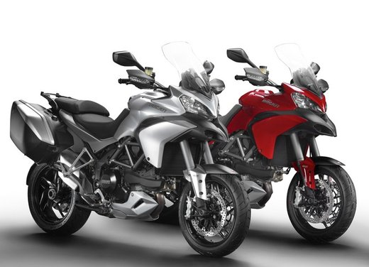 Ducati Hyperstrada, Hypermotard SP e Ducati Multistrada 1200 S Touring per l'Hyper Winter - Foto 2 di 30