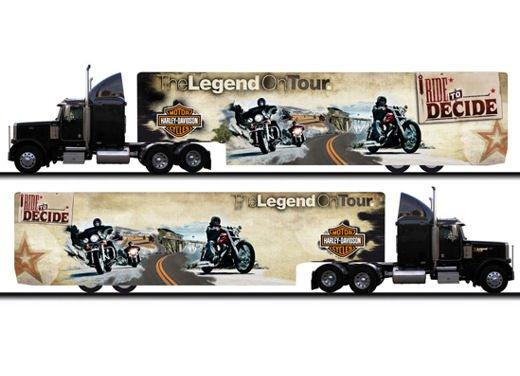 "Harley Davidson ""The Legend On Tour 2011"""