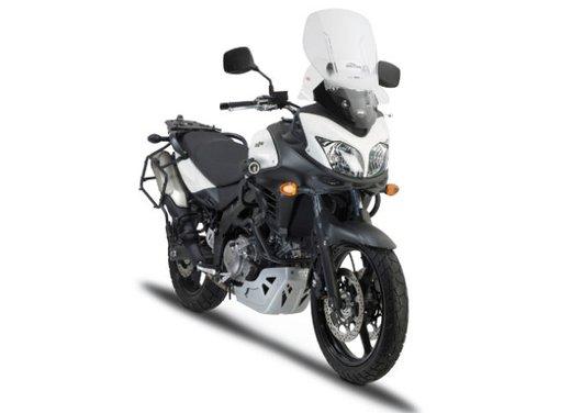 Suzuki V-Strom 650 ABS con accessori GIVI - Foto 3 di 13