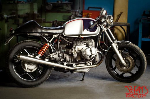 BMW R80 Cafè Racer by Dream's Factory Motorcycles - Foto 1 di 33