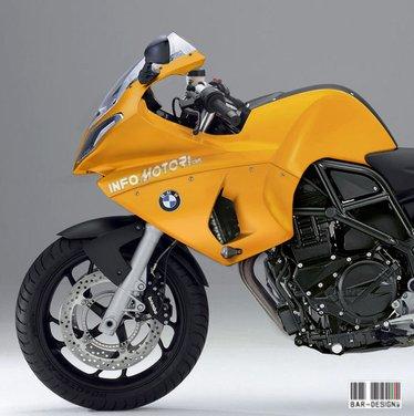 BMW S 900: il rendering di Infomotori - Foto 5 di 7