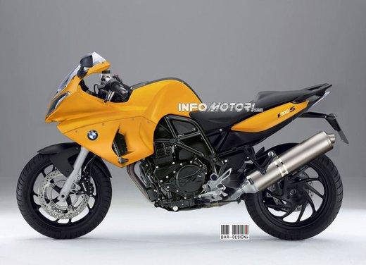 BMW S 900: il rendering di Infomotori - Foto 2 di 7
