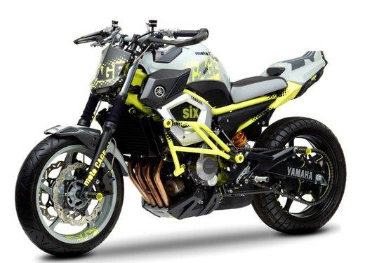 "Yamaha Concept Bike ""Moto Cage Six"" - Foto 8 di 13"