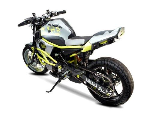 "Yamaha Concept Bike ""Moto Cage Six"" - Foto 12 di 13"