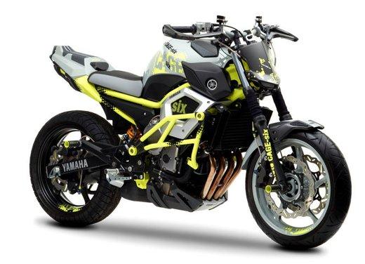 "Yamaha Concept Bike ""Moto Cage Six"" - Foto 9 di 13"