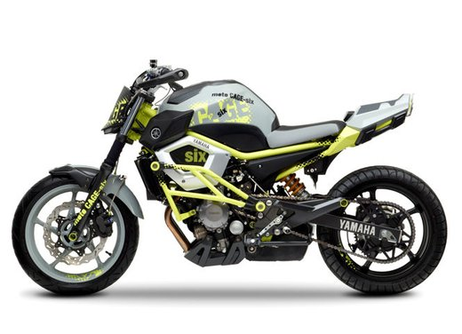 "Yamaha Concept Bike ""Moto Cage Six"" - Foto 10 di 13"