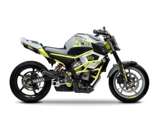 "Yamaha Concept Bike ""Moto Cage Six"" - Foto 11 di 13"