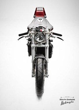 Ducati 749 Cafe Racer by South Garage - Foto 10 di 14