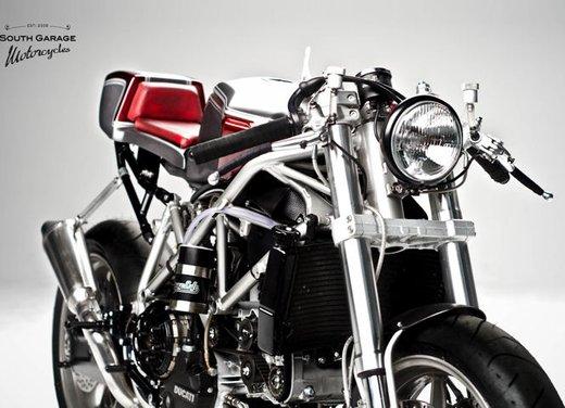 Ducati 749 Cafe Racer by South Garage - Foto 4 di 14