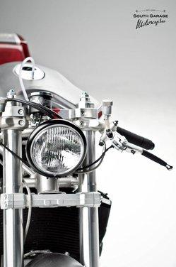 Ducati 749 Cafe Racer by South Garage - Foto 12 di 14