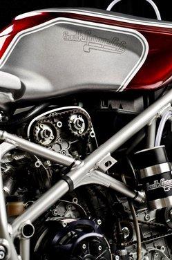 Ducati 749 Cafe Racer by South Garage - Foto 13 di 14