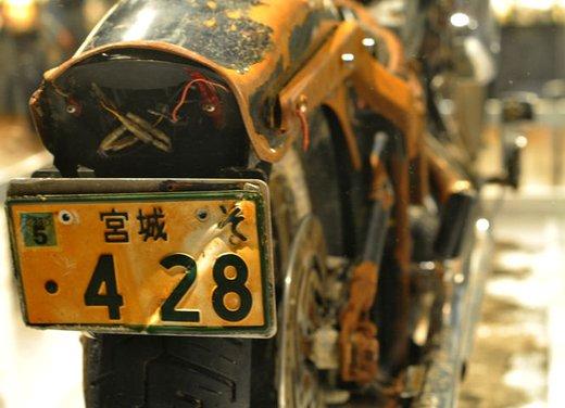 La Harley-Davidson sopravvissuta allo tsunami esposta al museo di Milwaukee - Foto 5 di 7