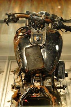 La Harley-Davidson sopravvissuta allo tsunami esposta al museo di Milwaukee - Foto 7 di 7