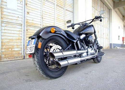 Harley-Davidson Softail Slim, la prova su strada - Foto 8 di 20