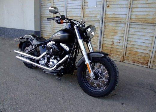 Harley-Davidson Softail Slim, la prova su strada - Foto 11 di 20