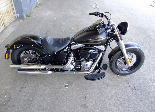 Harley-Davidson Softail Slim, la prova su strada - Foto 19 di 20
