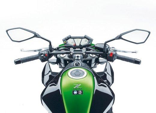 Kawasaki Z800 depotenziata a 35 kW per neopatentati - Foto 34 di 36
