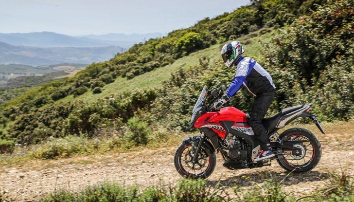Test Honda CB 500X: divertimento e facilità immediata! - Foto 41 di 41