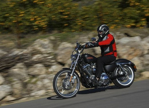 Harley Davidson Seventy-Two prova su strada della nuova Sportster
