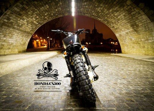 Honda CX500 Street Tracker by Rive Gauche Kustom - Foto 7 di 11