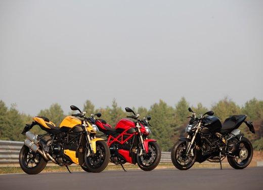 Provata la nuova Ducati Streetfighter 848 sul circuito di Modena - Foto 35 di 37