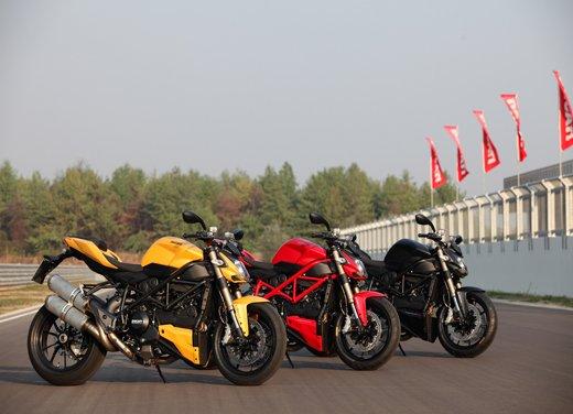 Provata la nuova Ducati Streetfighter 848 sul circuito di Modena - Foto 36 di 37