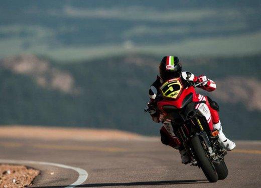 Ducati Multistrada 1200 S vince la Pikes Peak 2012 - Foto 2 di 22