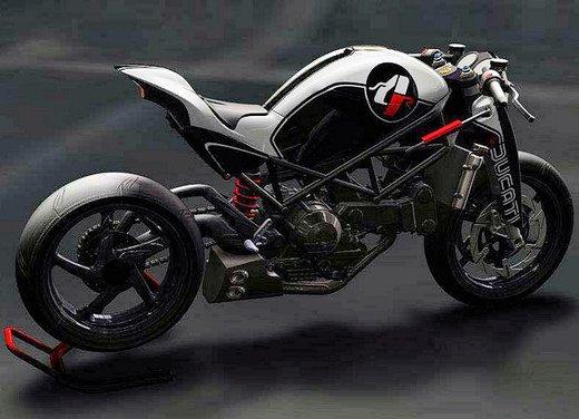 Ducati Monster MS4R concept by Paolo Tesio - Foto 12 di 17